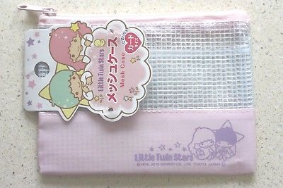 Little Twin Stars Sanrio Mesh case Light pink