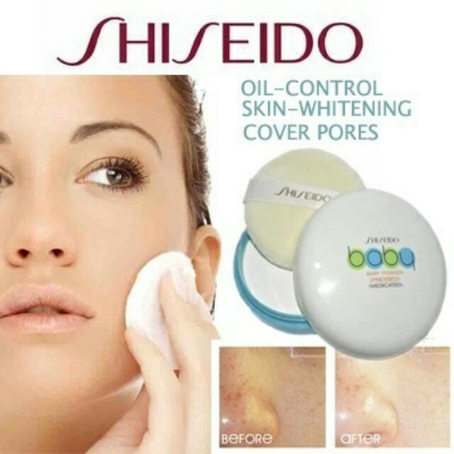 shiseido baby powder 50g